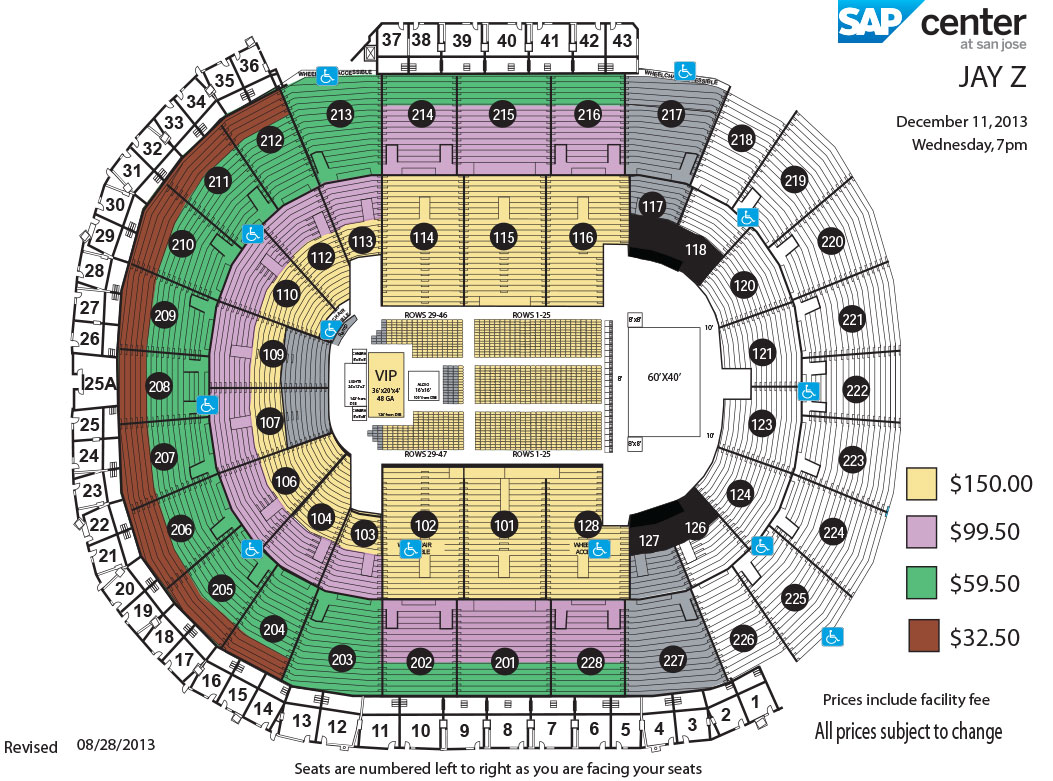 Sap Center Jay Z