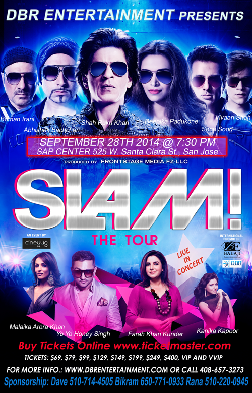 SLAM, The Tour